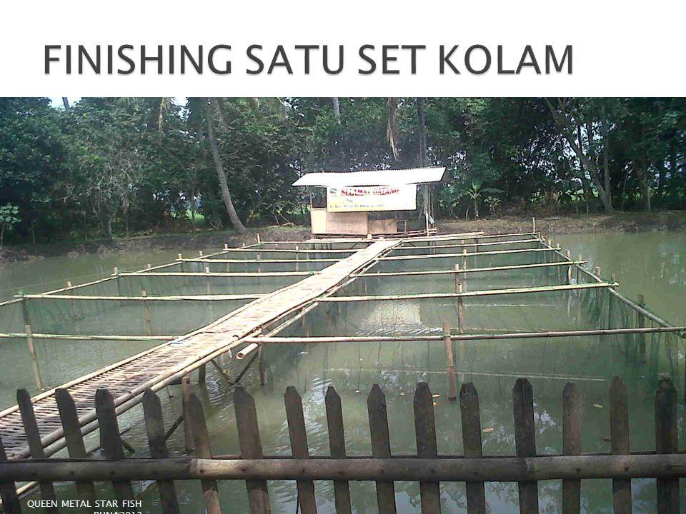 FINISHING SATU SET KOLAM