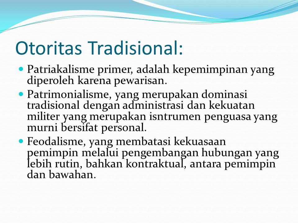 Otoritas Tradisional: