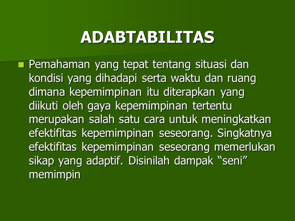 ADABTABILITAS
