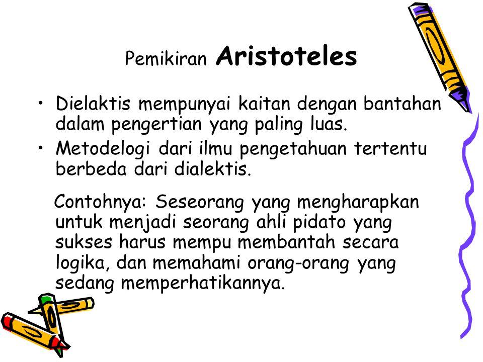 Pemikiran Aristoteles