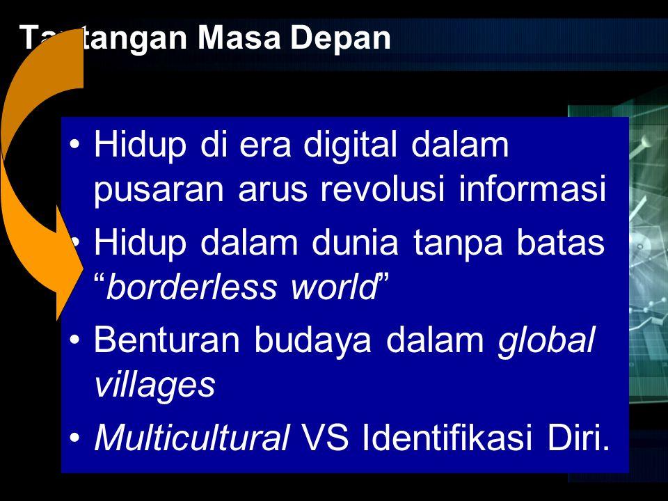 Hidup di era digital dalam pusaran arus revolusi informasi