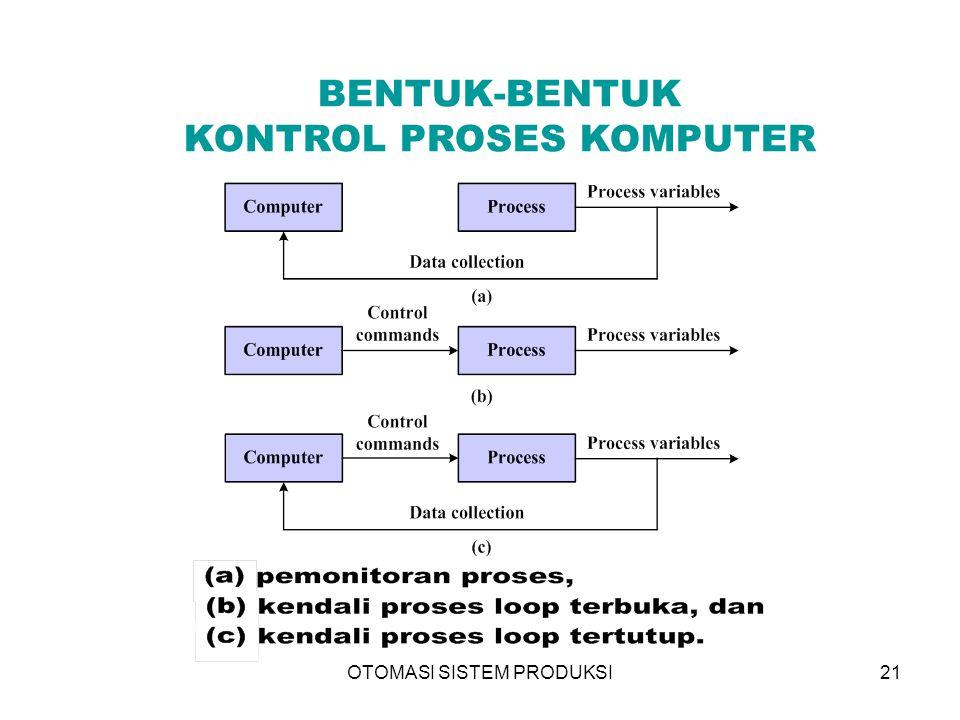 BENTUK-BENTUK KONTROL PROSES KOMPUTER