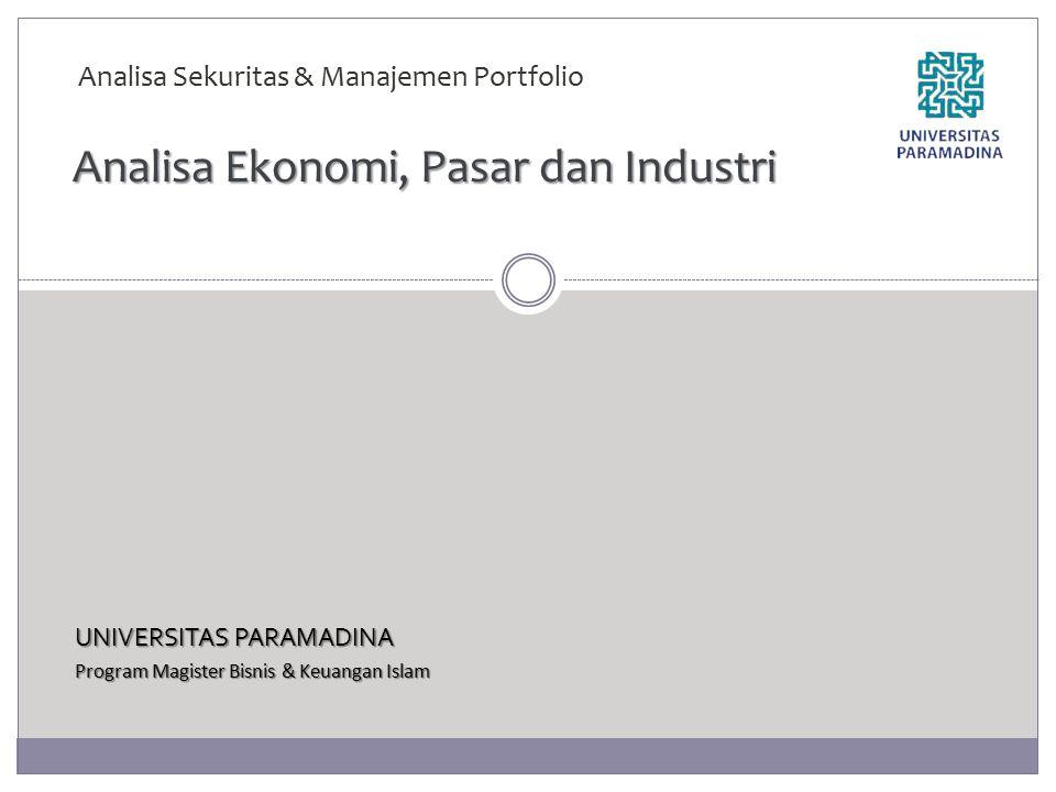 Analisa Ekonomi, Pasar dan Industri