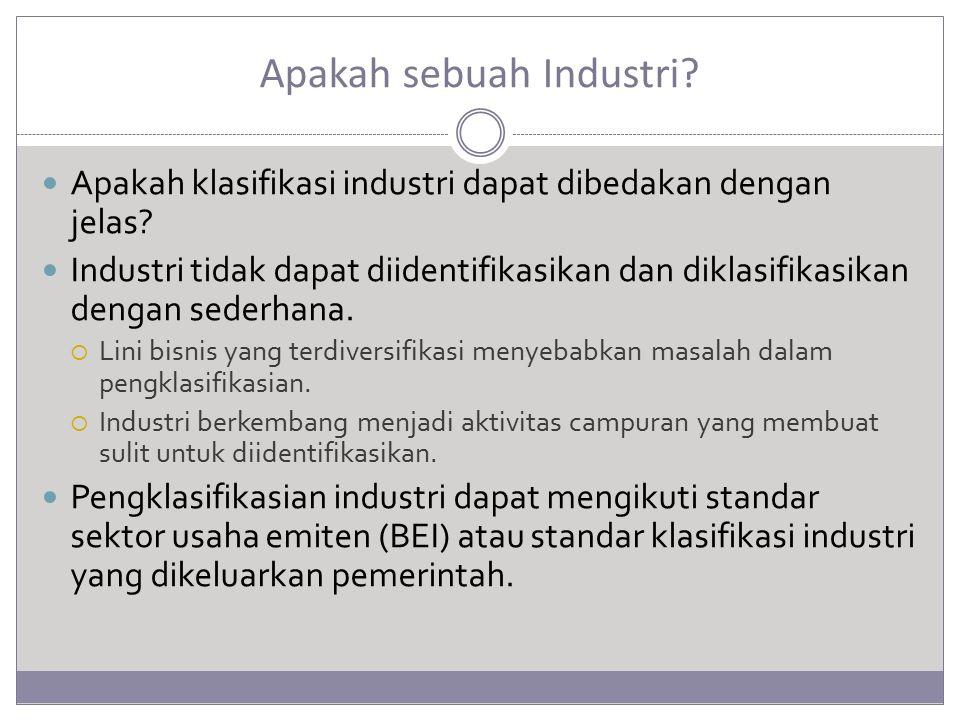 Apakah sebuah Industri