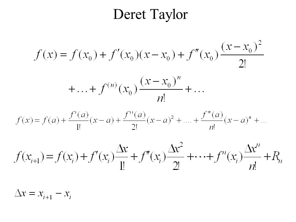 Deret Taylor