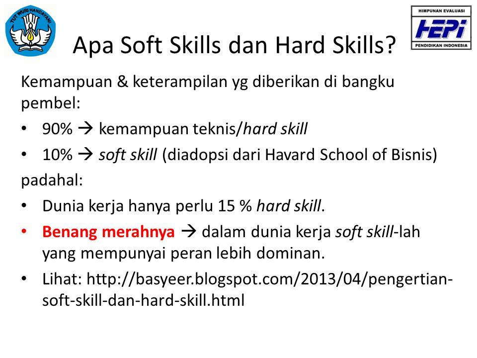 Apa Soft Skills dan Hard Skills