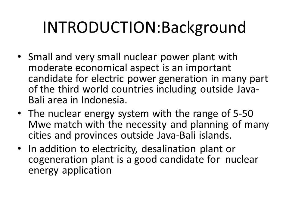 INTRODUCTION:Background
