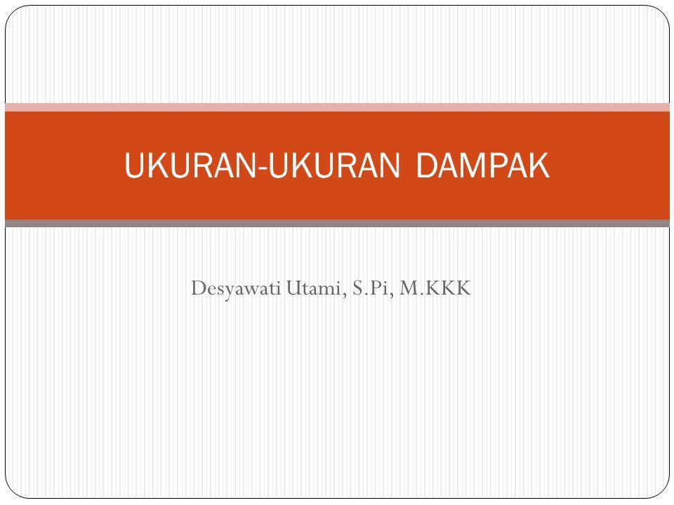 Desyawati Utami, S.Pi, M.KKK
