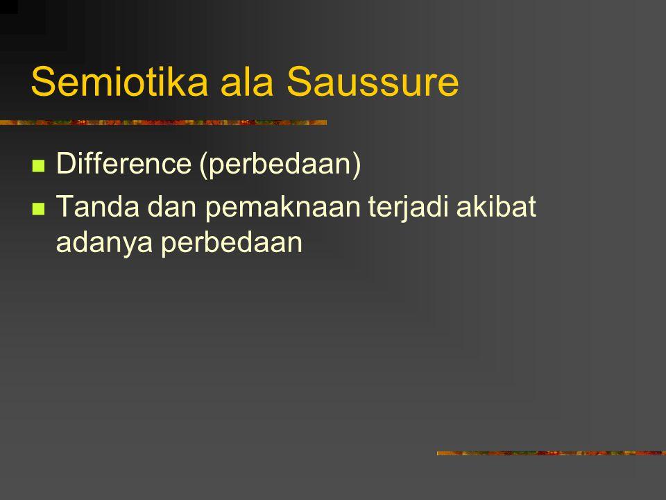 Semiotika ala Saussure