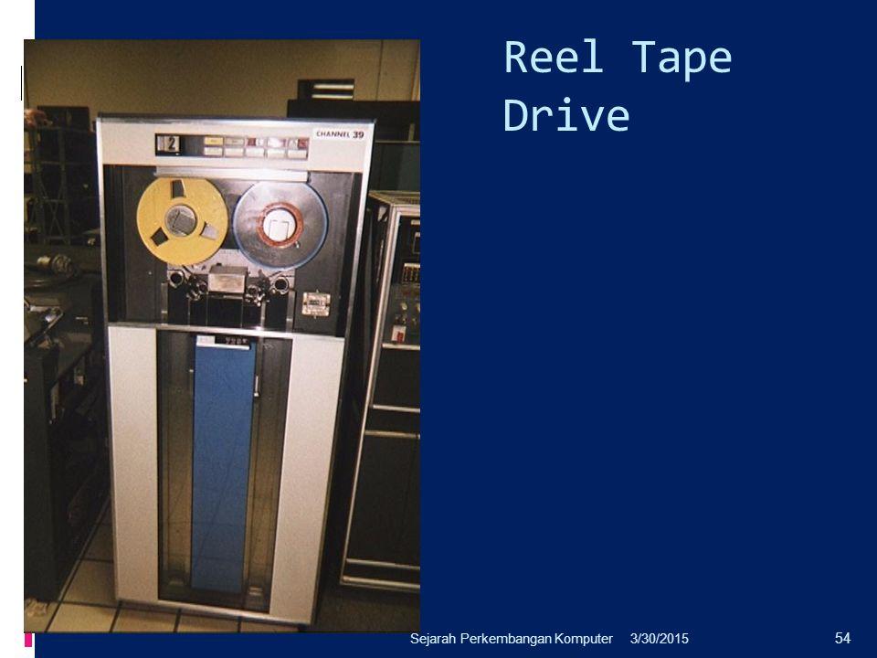 Reel Tape Drive Sejarah Perkembangan Komputer 4/8/2017