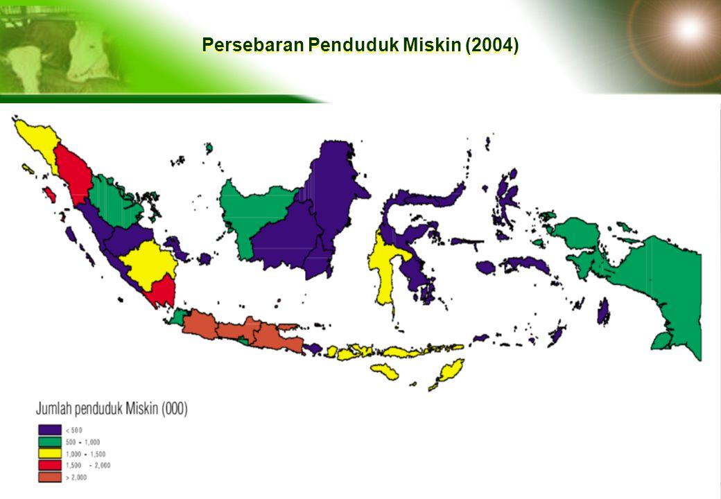 Persebaran Penduduk Miskin (2004)