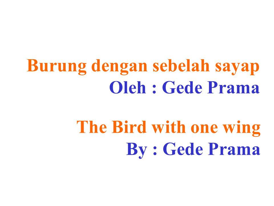 Burung dengan sebelah sayap