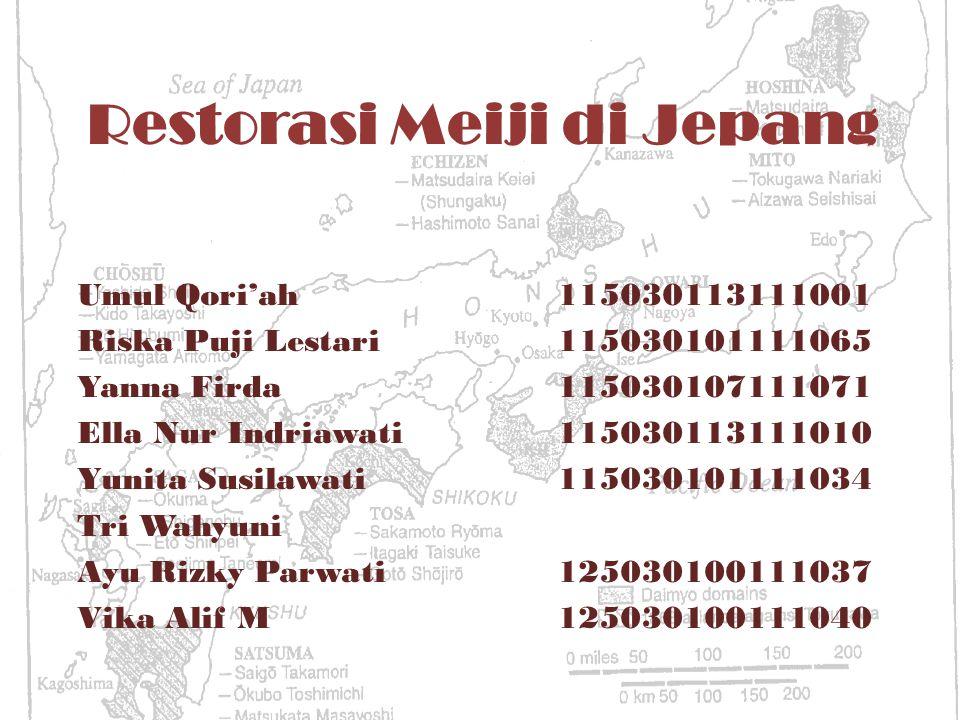Restorasi Meiji di Jepang