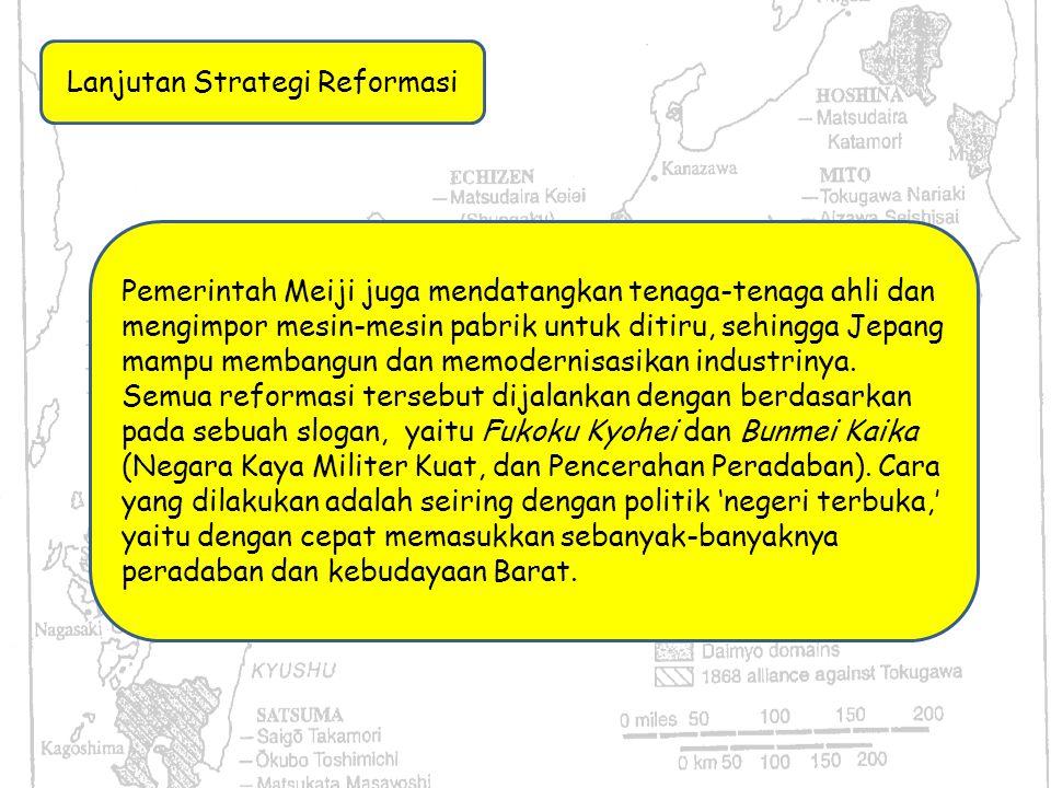 Lanjutan Strategi Reformasi