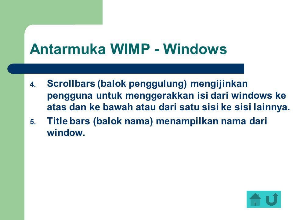 Antarmuka WIMP - Windows