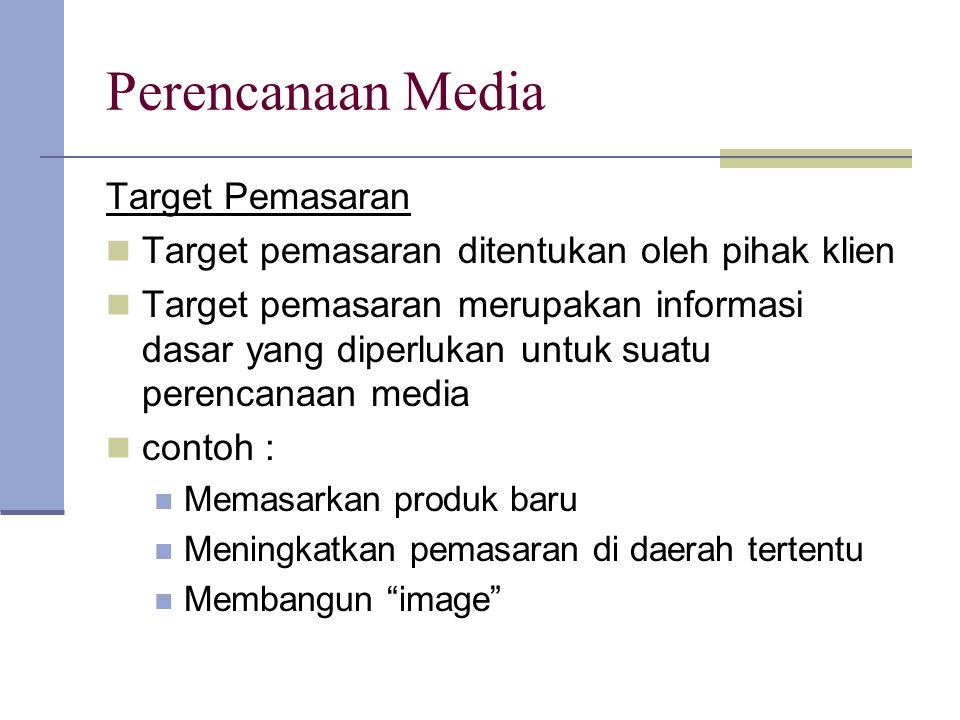Perencanaan Media Target Pemasaran