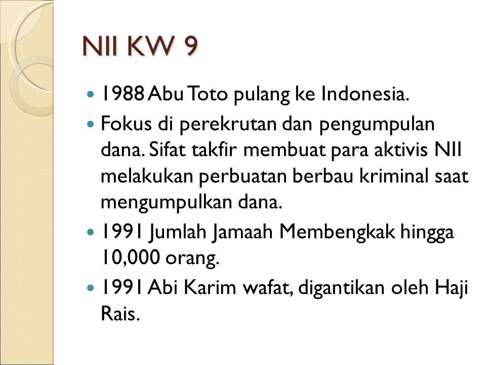 NII KW 9 1988 Abu Toto pulang ke Indonesia.