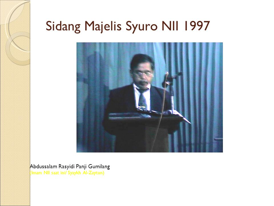 Sidang Majelis Syuro NII 1997