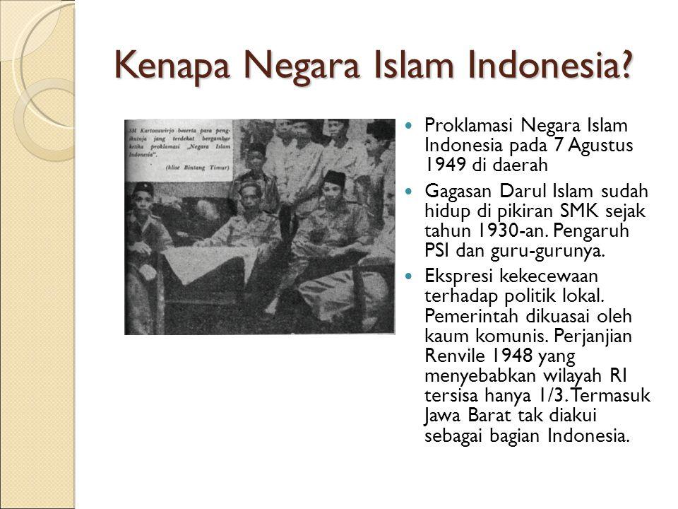 Kenapa Negara Islam Indonesia