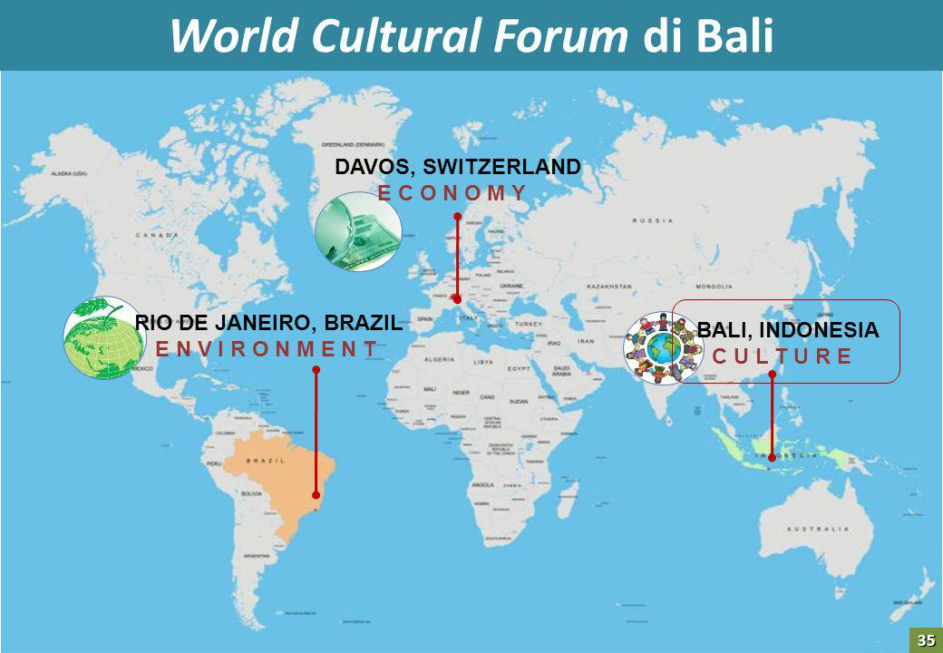 World Cultural Forum di Bali