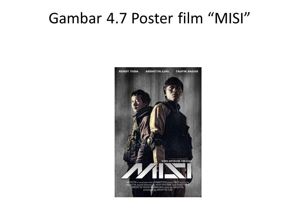 Gambar 4.7 Poster film MISI