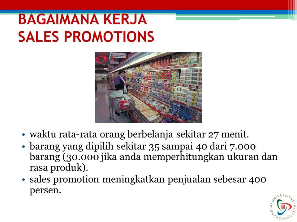 BAGAIMANA KERJA SALES PROMOTIONS