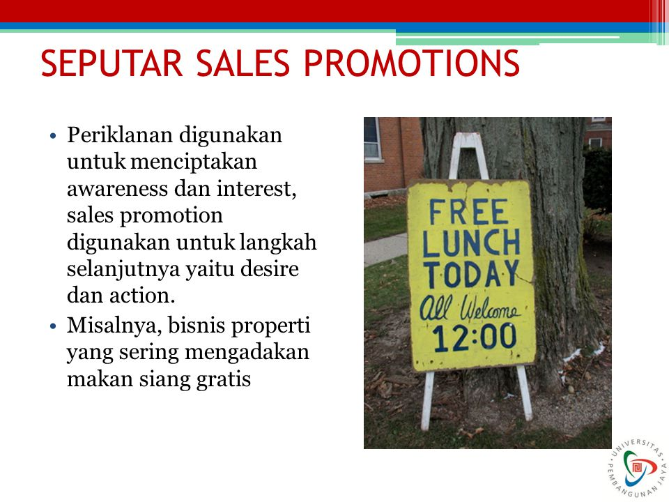 SEPUTAR SALES PROMOTIONS