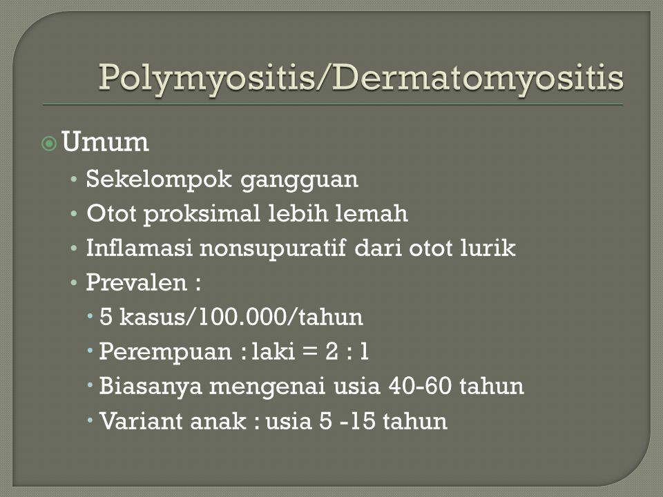 Polymyositis/Dermatomyositis
