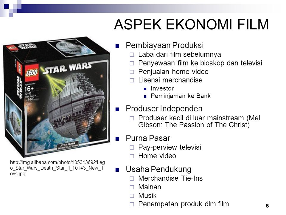 ASPEK EKONOMI FILM Pembiayaan Produksi Produser Independen Purna Pasar