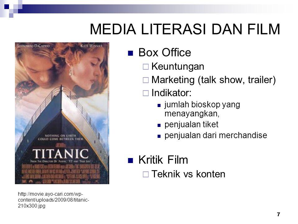 MEDIA LITERASI DAN FILM