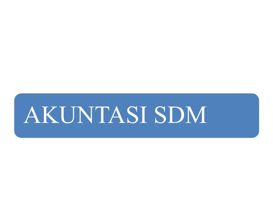 AKUNTASI SDM