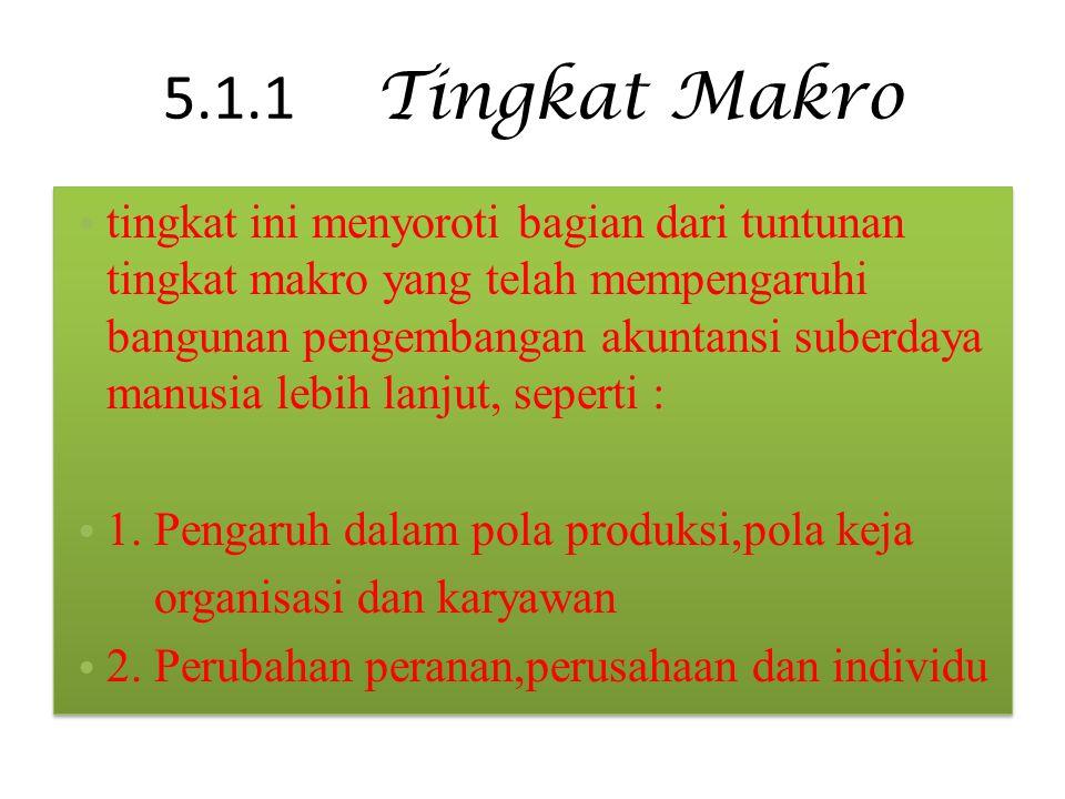 5.1.1 Tingkat Makro