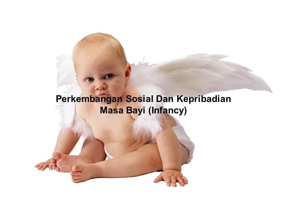 Perkembangan Sosial Dan Kepribadian Masa Bayi (Infancy)