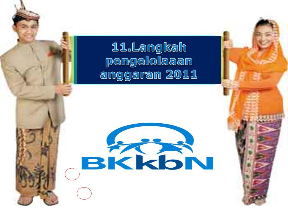 11.Langkah pengelolaaan anggaran 2011