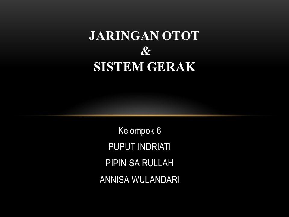 JARINGAN OTOT & SISTEM GERAK