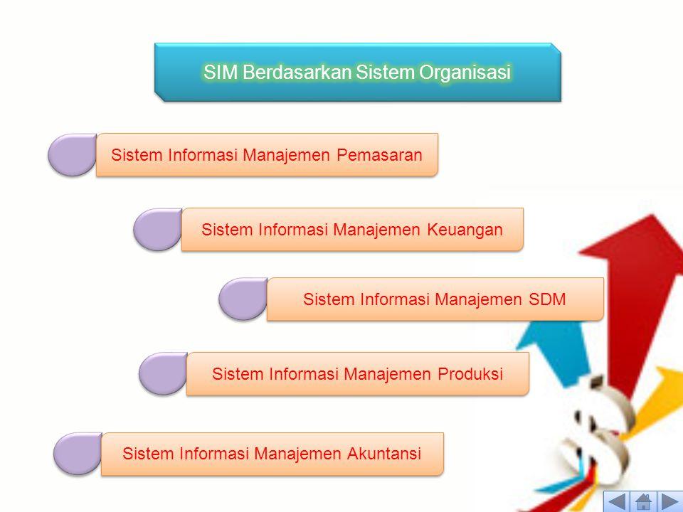 SIM Berdasarkan Sistem Organisasi
