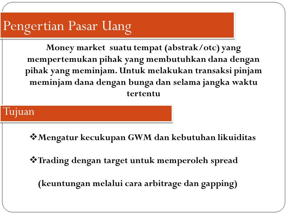 Pengertian Pasar Uang Tujuan