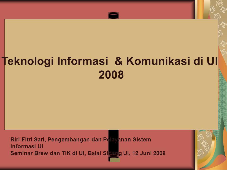 Teknologi Informasi & Komunikasi di UI