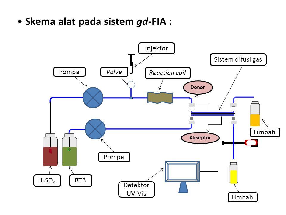Skema alat pada sistem gd-FIA :
