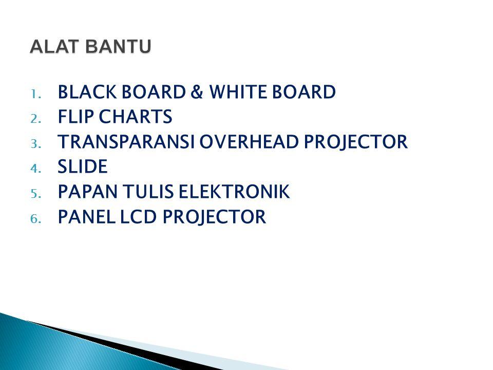 ALAT BANTU BLACK BOARD & WHITE BOARD FLIP CHARTS
