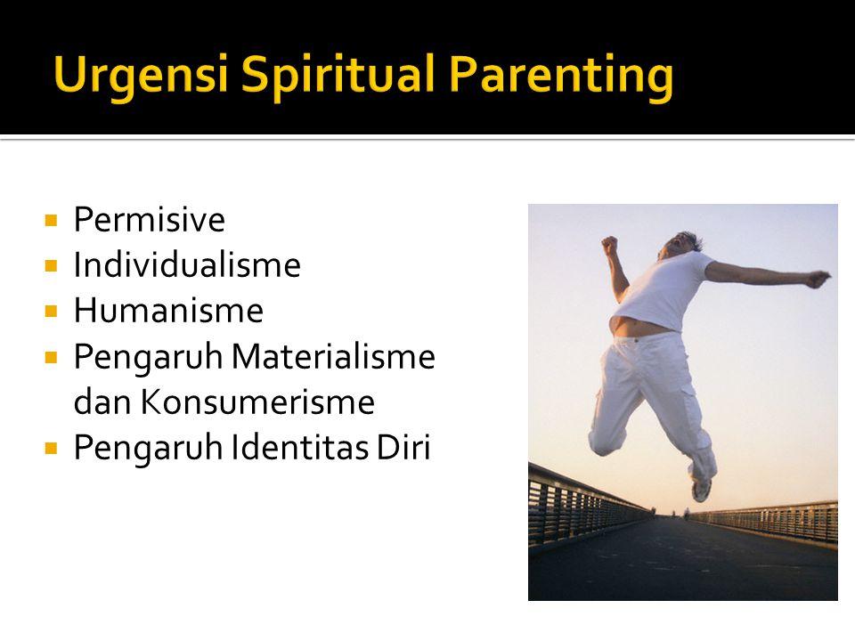 Urgensi Spiritual Parenting