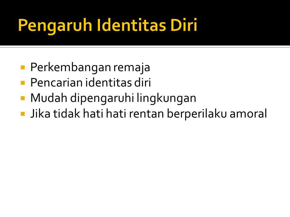 Pengaruh Identitas Diri