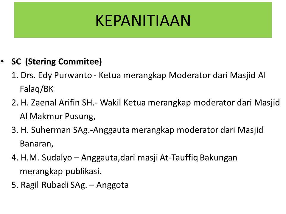 KEPANITIAAN SC (Stering Commitee)