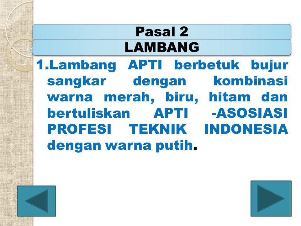 Pasal 2 LAMBANG.