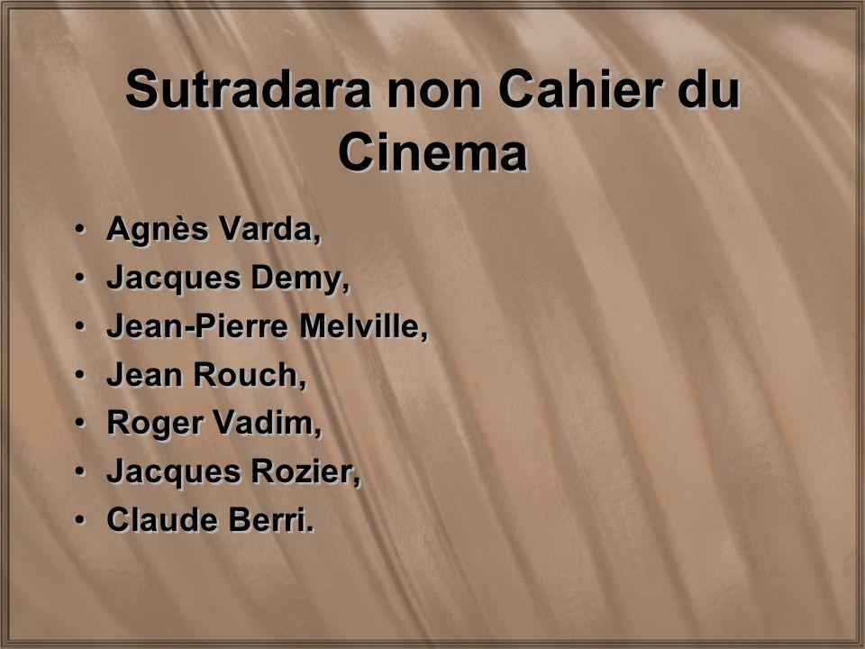 Sutradara non Cahier du Cinema