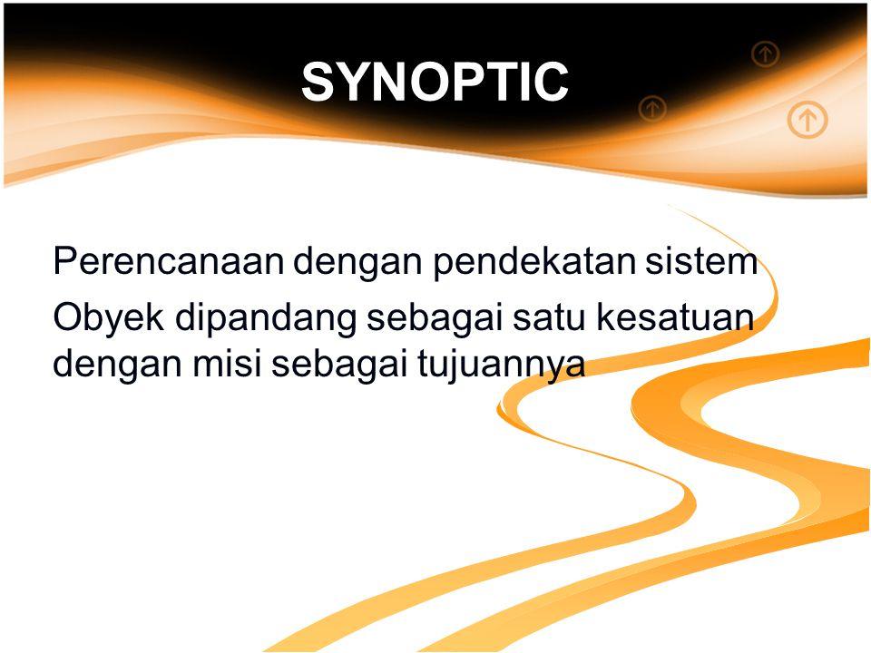 SYNOPTIC Perencanaan dengan pendekatan sistem