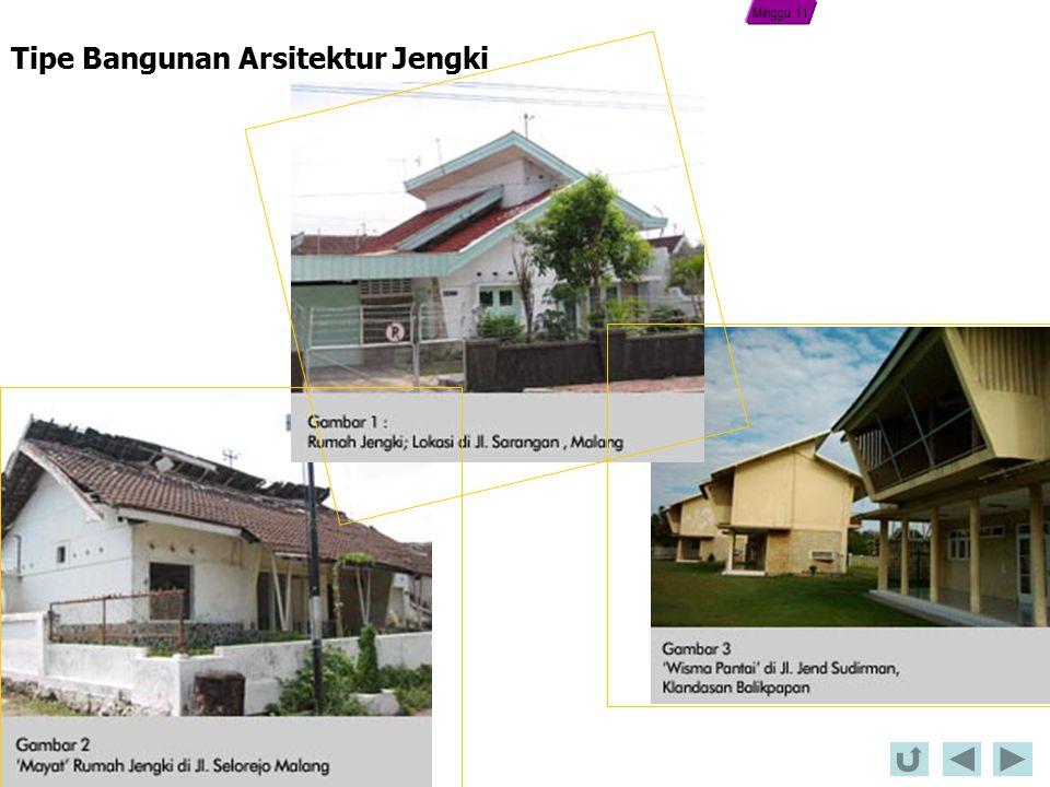 Tipe Bangunan Arsitektur Jengki