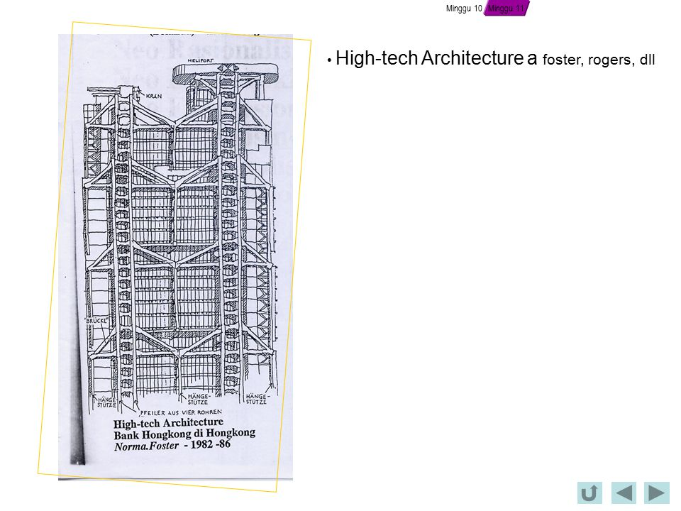 High-tech Architecture a foster, rogers, dll