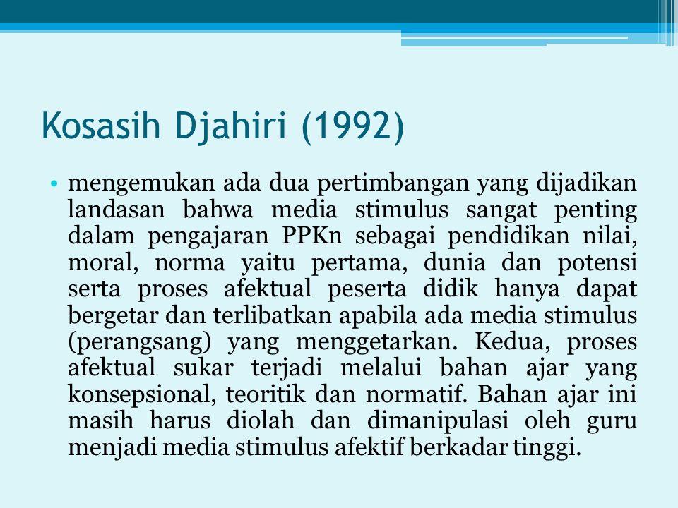 Kosasih Djahiri (1992)