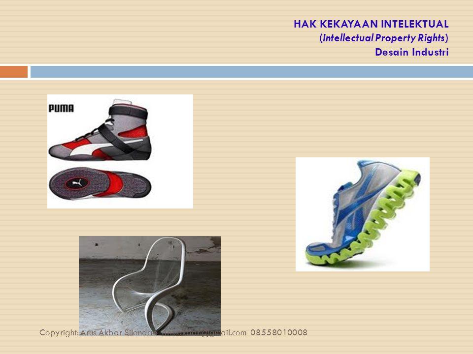 HAK KEKAYAAN INTELEKTUAL (Intellectual Property Rights) Desain Industri
